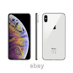 NEW Apple iPhone X 64GB Silver Unlocked AT&T T-Mobile Cricket Metro