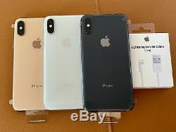 NEW Apple iPhone XS 512GB FACTORY UNLOCKED GOLD SPACE GRAY SILVER WHITE A1920