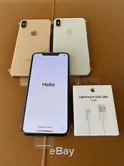 NEW Apple iPhone XS MAX 512GB UNLOCKED GOLD SPACE GRAY SILVER WHITE A1921