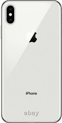NEW Apple iPhone XS Max 256GB Silver Unlocked Verizon AT&T T-Mobile Metro