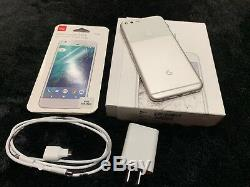 NEW INBOX Google Pixel XL 32GB Very Silver / WHITE (GSM GLOBAL Unlocked)