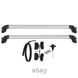 NEW OEM 2019-2020 VW Volkswagen Jetta Roof Rack Base Carrier Bars Black Silver