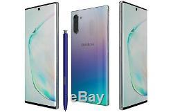 NEW Samsung Galaxy Note 10 256GB Aura Glow Verizon + Unlocked N970U