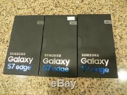 NEW! Samsung Galaxy S7 edge SM-G935V 32GB Verizon Smartphone Silver Titanium