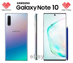 NEW Samsung Note 10 256GB Aura Glow Unlocked Verizon T-Mobile AT&T Metro
