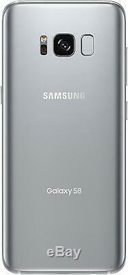 NEW Silver Samsung Galaxy S8 SM-G950V 64GB Verizon At&t Factory GSM Unlocked