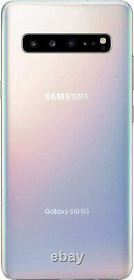 NEW VERIZON UNLOCKED Samsung Galaxy S10 5G 256GB Crown Silver UNUSED