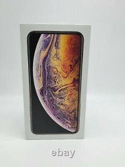 New Apple iPhone XS Max 64 GB GSM+CDMA Unlocked Silver Gold
