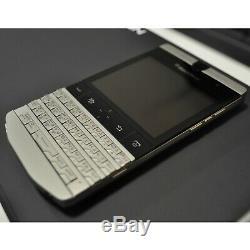 New BlackBerry Porsche Design P9981 QWERTY+Arabic Dark Platinum Factory Unlocked
