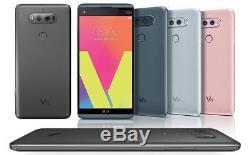 New Boxed LG V20 H910 AT&T Unlocked Android 7 64GB 16MP Phone Silver Titan Gray