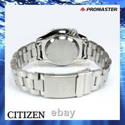 New Citizen NY0086-83L Promaster Aqualand Automatic Diver's 20 Bar Men Mares
