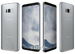 New In Box Samsung Galaxy S8 SM-G950U 64GB Silver GSM Unlocked for AT&T T-Mobile