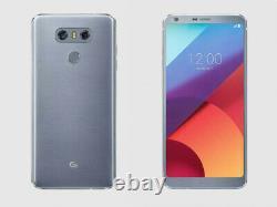 New LG G6 H871 Ice Platinum 4G LTE 32GB 5.7 Android 13MP Camera AT&T Unlocked