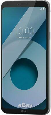 New LG Q6 Silver 32GB 4G LTE 5.5 QHD 13MP WIFI NFC GPS Unlocked Smartphone