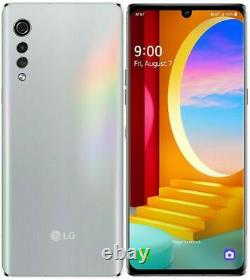 New LG Velvet 4G & 5G LMG900UM1 128GB Aurora Silver (AT&T+GSM Unlocked) Phone