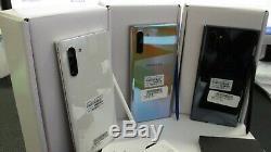 New Samsung Galaxy Note 10 SM N970U GSM UNLOCKED 256GB AT&T T-Mobile