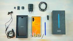 New Samsung Galaxy Note 10+ SM-N975U1 Aura Glow 256 GB FACTORY UNLOCK (GSM+CDMA)