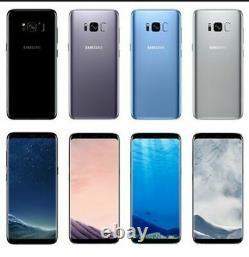 New Samsung Galaxy S8+ Plus 64GB SM-G955U Full Unlocked GSM 4G LTE Smartphone