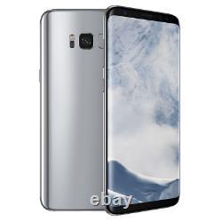 New Samsung Galaxy S8 SM-G950U Arctic Silver 64GB T-Mobile AT&T Unlocked
