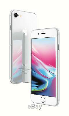 New SealedApple iPhone 8 Unlocked Smartphone/Silver/64GB/GLOBAL UNLOCKED
