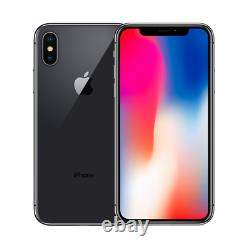 New Sim Free Apple iPhone X 64GB Space Grey (Unlocked) A1901 (GSM) Smartphone