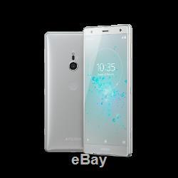 New Sony Xperia XZ2 H8216 Silver 64GB 19MP 4GB RAM 4G LTE Unlocked Smartphone