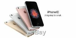 New UNOPENDED Apple iPhone SE 4.0 AT&T T-MOB Smartphone/Silver/64GB