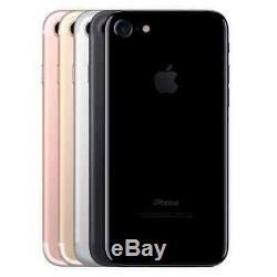 New in Box Apple iPhone 7 32GB GSM Unlocked Black / Rose Gold / Gold / Silver
