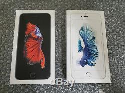 New in Box iPhone 6S Plus Silver Gray 64GB 128GB Unlocked 1 Year Apple Warranty