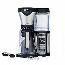 Ninja CF080 Coffee Bar Auto-IQ 1 Touch Intelligence Brewer Maker with Glass Carafe