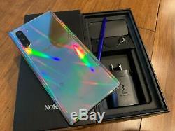 OB Samsung Galaxy Note10+ SM-N975U 256GB Aura GLOW- Factory Unlocked