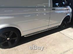 OE Style Sportline Side Bars for Volkswagen T5 SWB Transporter Caravelle
