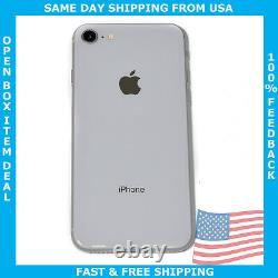OPEN Box Apple iPhone 8 256gb Silver GSM Unlocked Clearance Deal 100% Functional