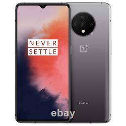 OnePlus 7T 128GB Frosted Silver Single SIM GSM Unlocked Smartphone