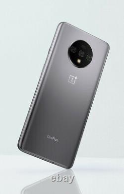 OnePlus 7T HD1907 128GB Smartphone (Unlocked, Silver) 4G LTE GLOBAL SINGLE SIM