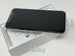 Open Box Apple iPhone X 256GB Silver GSM Unlocked