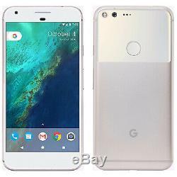 Open Box Google Pixel XL 32 GB, Very Silver Unlocked Bundle FREE SHIPPING