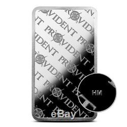 Provident Metals 10 Troy Oz. 999 Fine Silver Bar Brand New & Sealed In Plastic