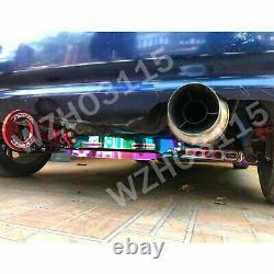 Rear Lower Control Arm Subframe Brace Tie Bar For 96-00 Honda Civic LX Silver
