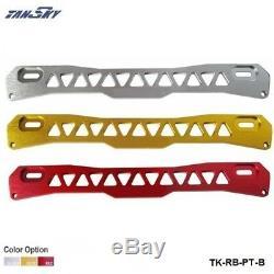 Rear Subframe Brace Tie Bar silver For 1997-2001 Mitsubishi Mirage