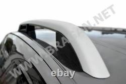 Roof Rails For Nissan Qashqai 2014+ 4x4 Polished Aluminium Top Rack Bars Styling