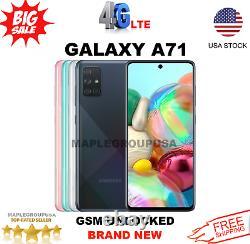 Samsung Galaxy A71 128GB (GSM UNLOCKED) 6.7 6GB RAM SM-A715F/DS NEW
