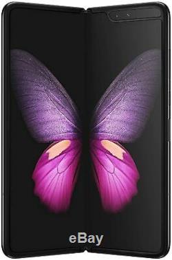 Samsung Galaxy Fold SM-F900U Cosmos Black Unlocked AT&T Model GSM. Openbox