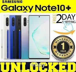 Samsung Galaxy NOTE 10 PLUS N975U1 256GB / 512GB (FACTORY UNLOCKED) SEALEDw