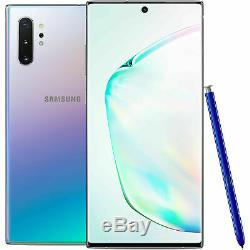 Samsung Galaxy NOTE 10+ Plus 256GB 512GB (SM-N975U1, Factory Unlocked) Excellent