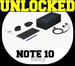Samsung Galaxy Note 10 N970u1 (factory Unlocked) 256gb1tb Gsm+cdma Sealed