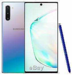Samsung Galaxy Note10 SM-N970U 256GB Aura Glow Factory Unlocked Smartphone