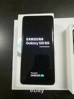 Samsung Galaxy S10 5G 256GB SM-G977U Crown Silver AT&T GSM UNLOKCED A+ GRADE