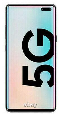 Samsung Galaxy S10 5G 256GB SM-G977U at&t Unlocked GSM/CDMA- Crown Silver