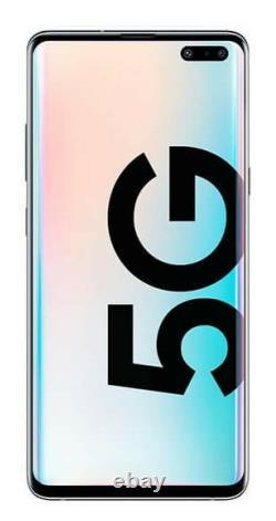 Samsung Galaxy S10 5G G977U Crown Silver 256GB AT&T T-Mobile Verizon Sprint A+++